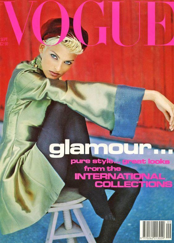 British Vogue Cover September 1991