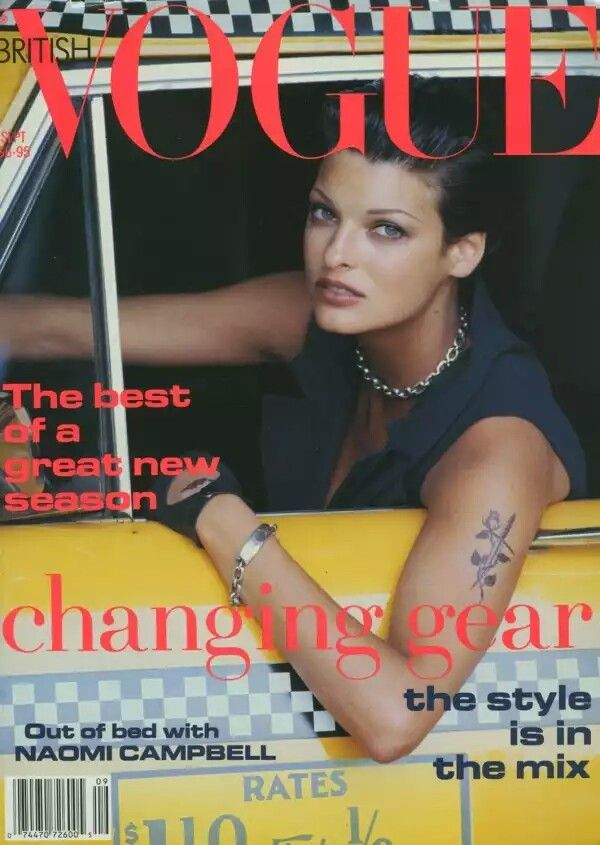 British Vogue Cover September 1992