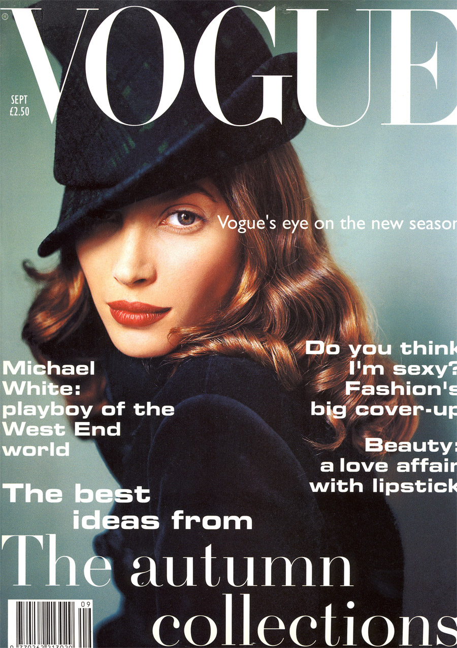British Vogue Cover September 1993