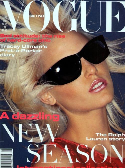 British Vogue Cover September 1994