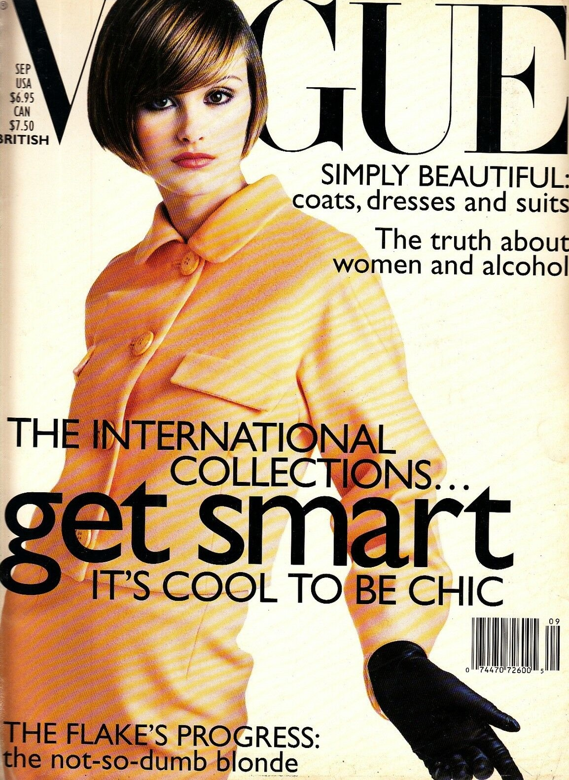 British Vogue Cover September 1995