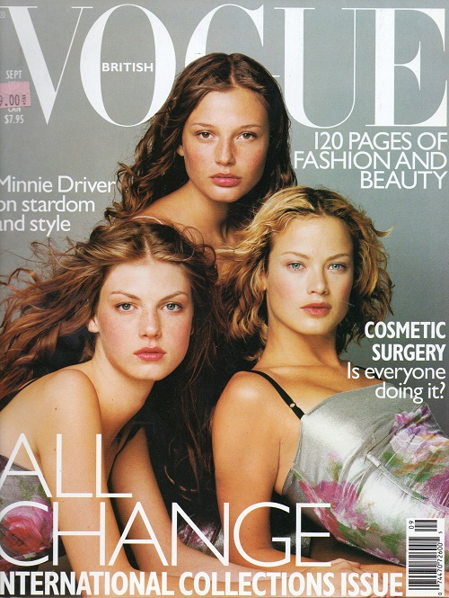 British Vogue Cover September 1998