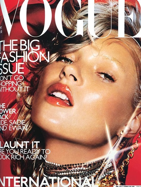 British Vogue Cover September 2000