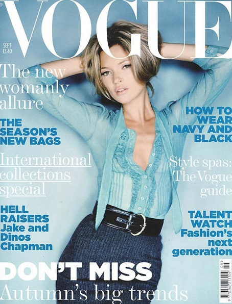 British Vogue Cover September 2005