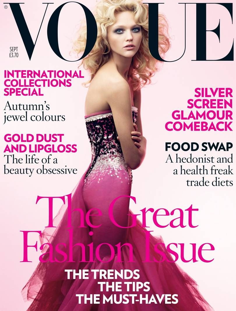 British Vogue Cover September 2007