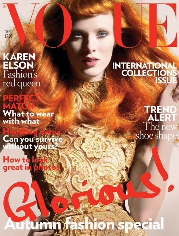 British Vogue Cover September 2008