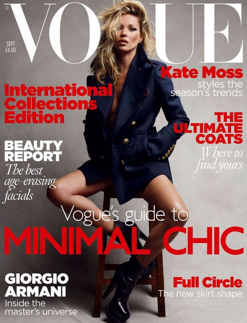 British Vogue Cover September 2010