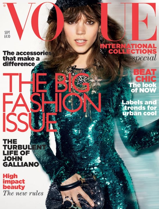 British Vogue Cover September 2011