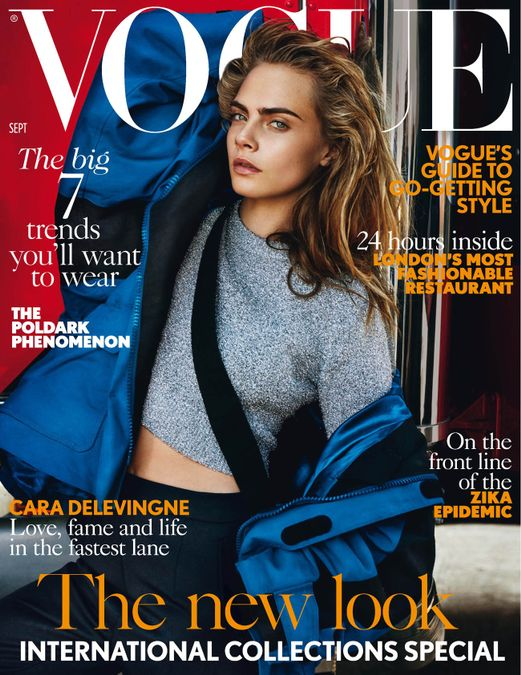 British Vogue Cover September 2016
