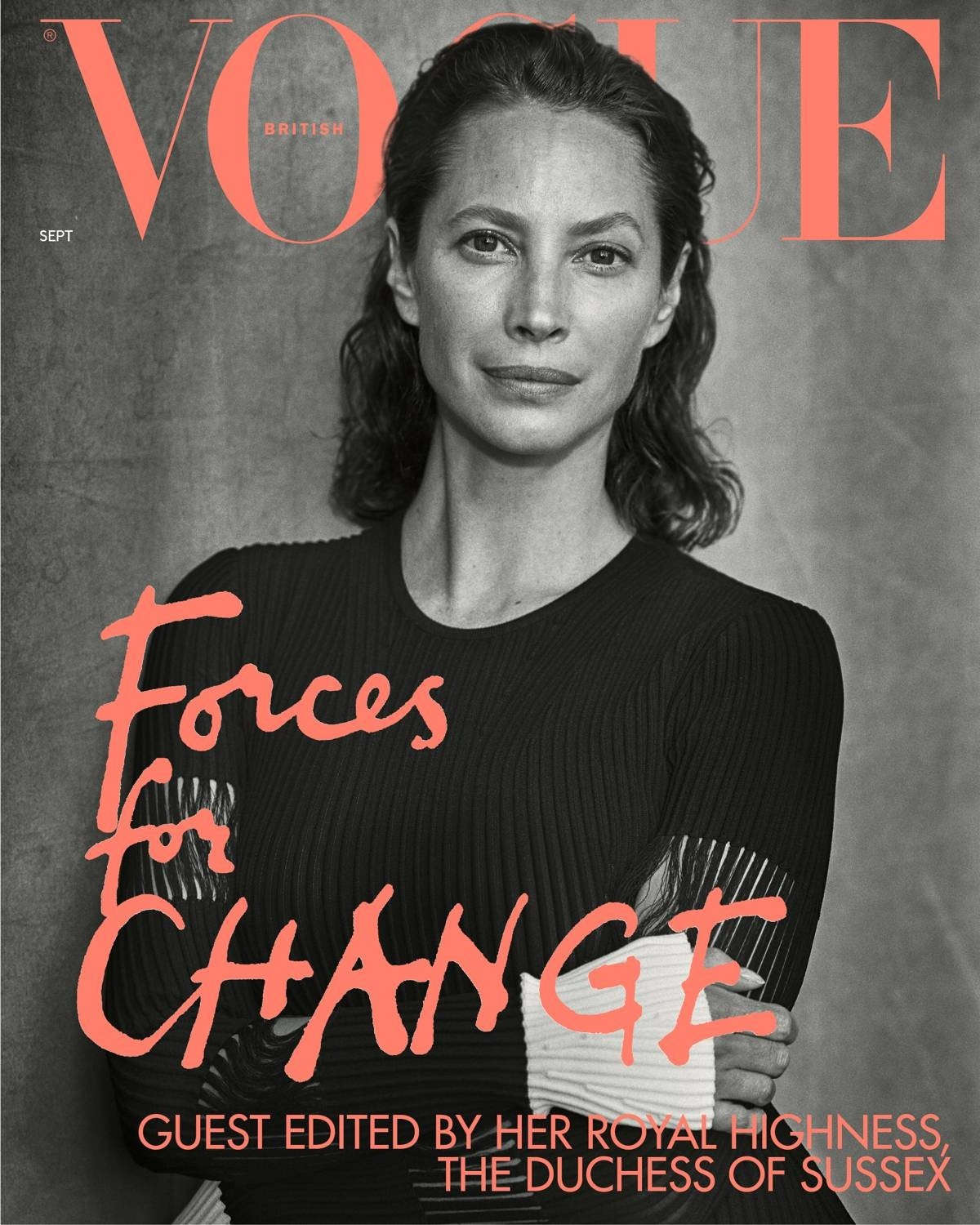 British Vogue Cover September 2019