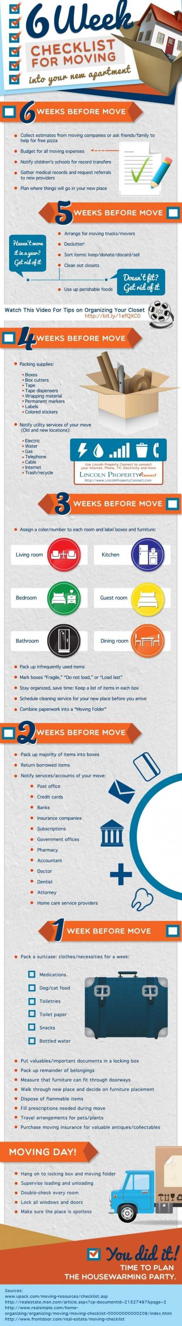 Moving On Up Infographic