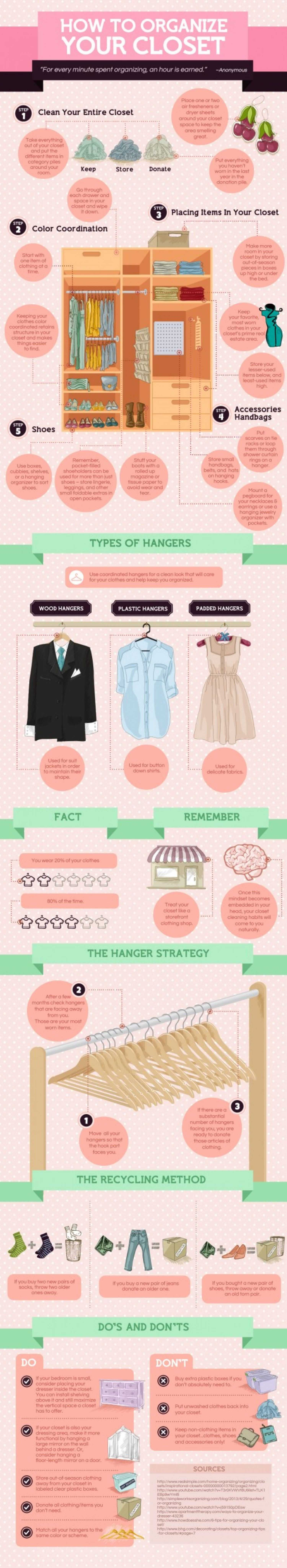 Optimize Your Organizing Infographic