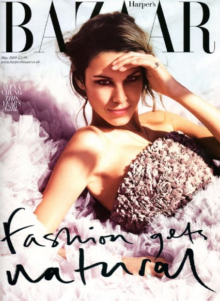 Alexa Chung British Harper's Bazaar Cover May 2009