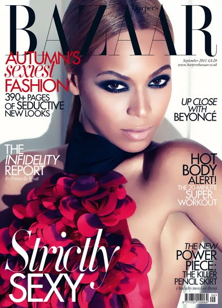 Beyonce British Harper's Bazaar Cover September 2011