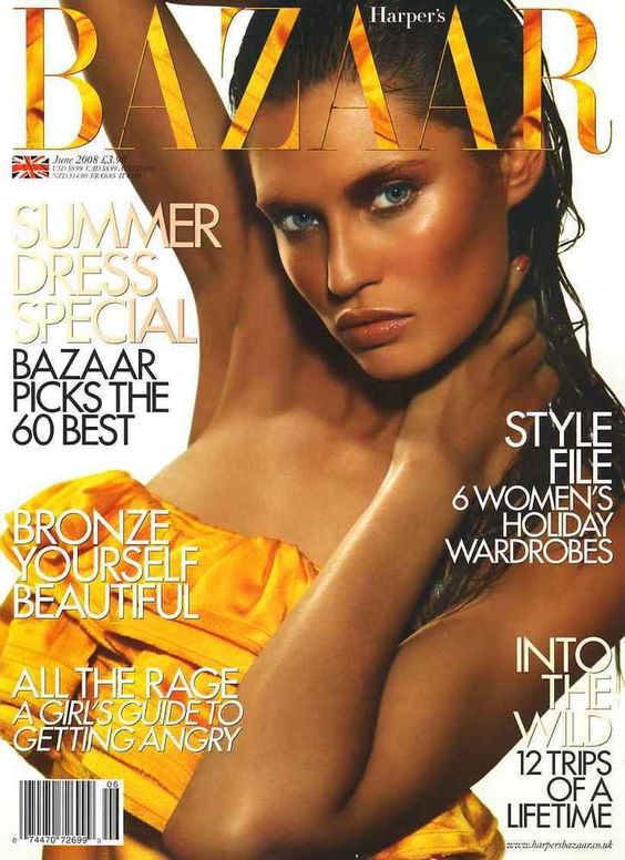 Bianca Balti British Harper's Bazaar Cover June 2008