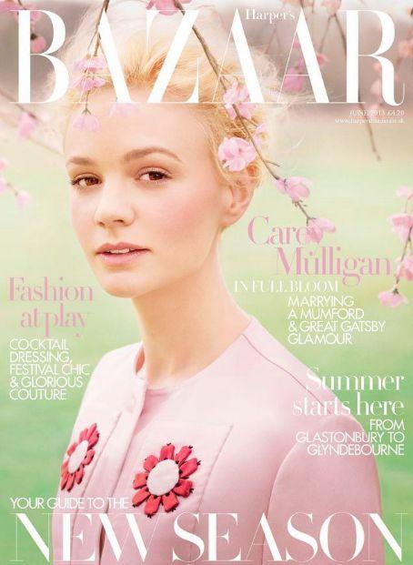 Carey Mulligan British Harper's Bazaar Cover June 2013