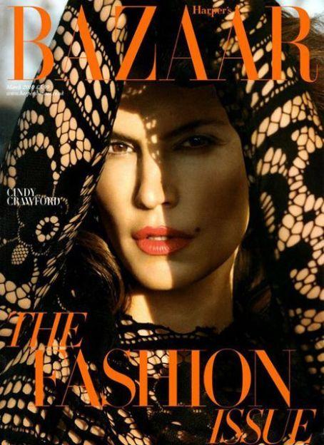 Cindy Crawford British Harper's Bazaar Cover March 2010