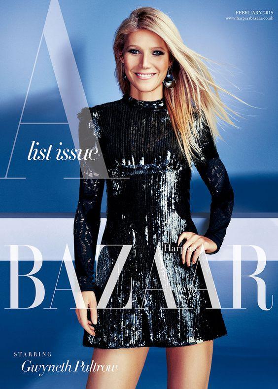 Gwyneth Paltrow British Harper's Bazaar Cover February 2015