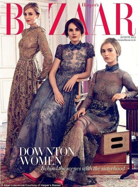 British Harper's Bazaar Cover August 2014