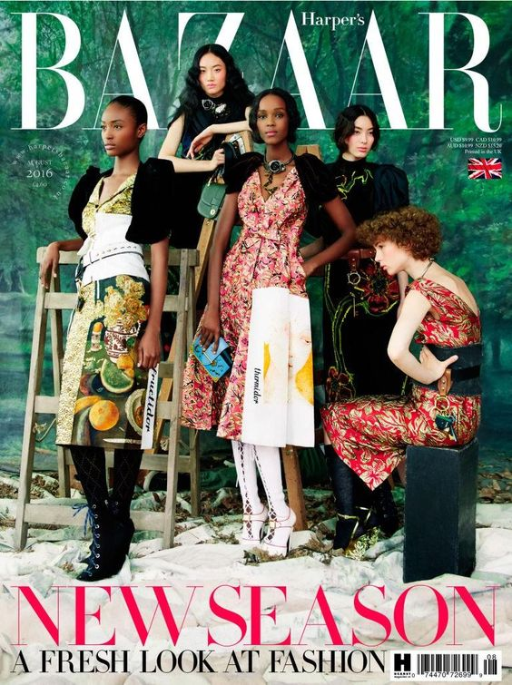British Harper's Bazaar Cover August 2016