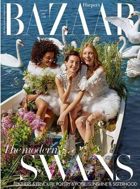British Harper's Bazaar Cover August 2019