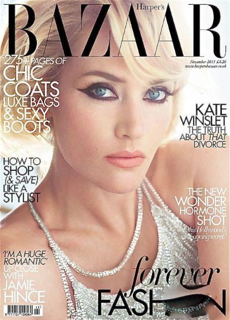 Kate Winslet British Harper's Bazaar Cover November 2011