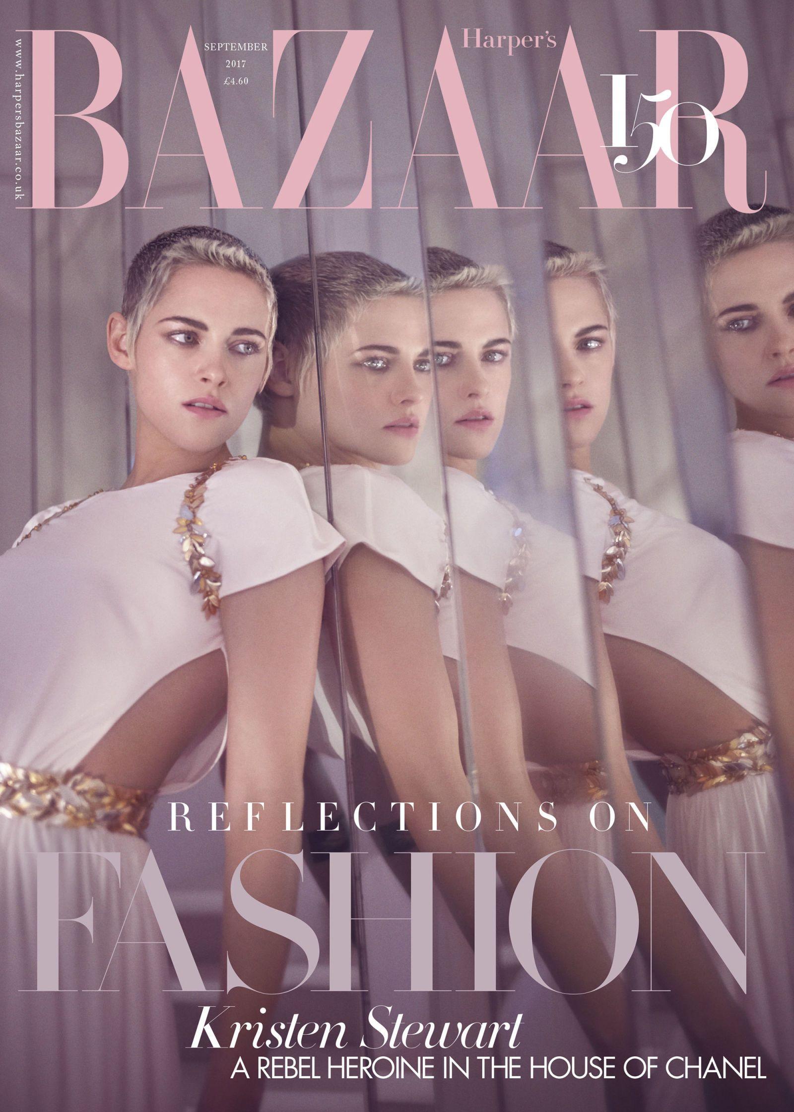 Kristen Stewart British Harper's Bazaar Cover September 2017