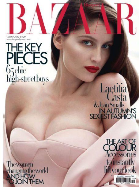 Laetitia Casta British Harper's Bazaar Cover October 2012