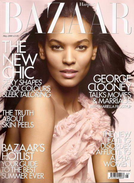Liya Kebede British Harper's Bazaar Cover May 2008