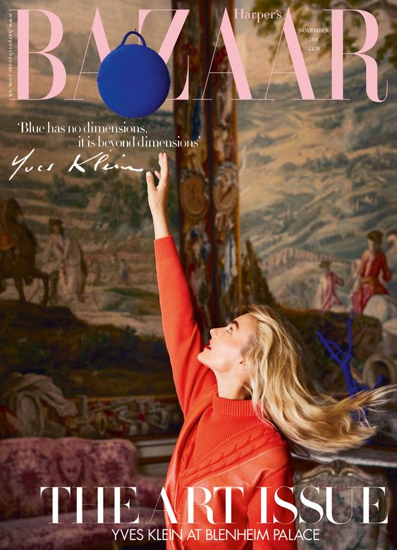 Maartje Verhoef British Harper's Bazaar Cover November 2018