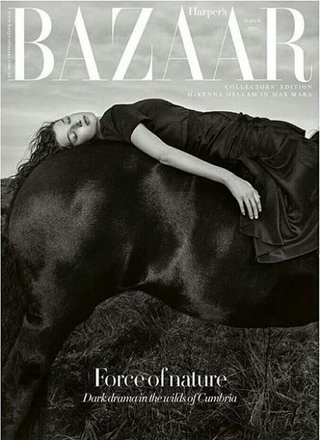 McKenna Hellam British Harper's Bazaar Cover March 2020