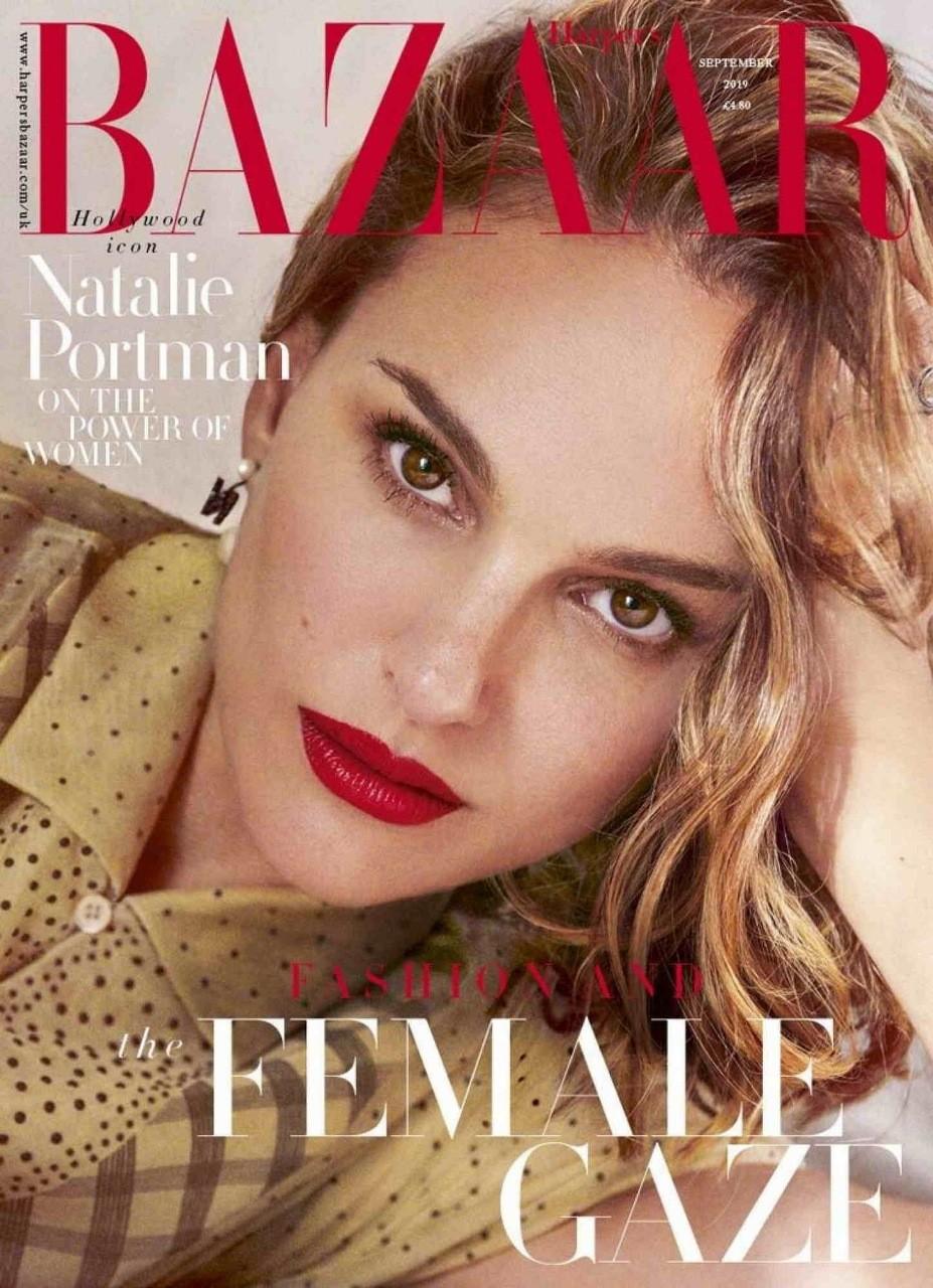 Natalie Portman British Harper's Bazaar Cover September 2019