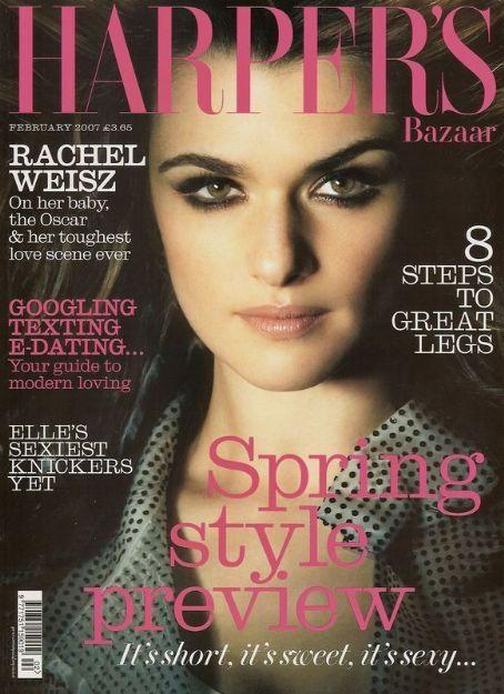 Rachel WeiszharpersBritish Harper's Bazaar Cover 2007