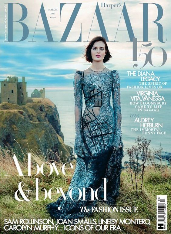 Sam Rollinson British Harper's Bazaar Cover March 2017