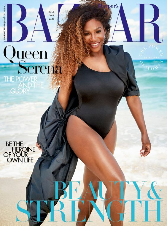 Serena Williams British Harper's Bazaar Cover July 2018