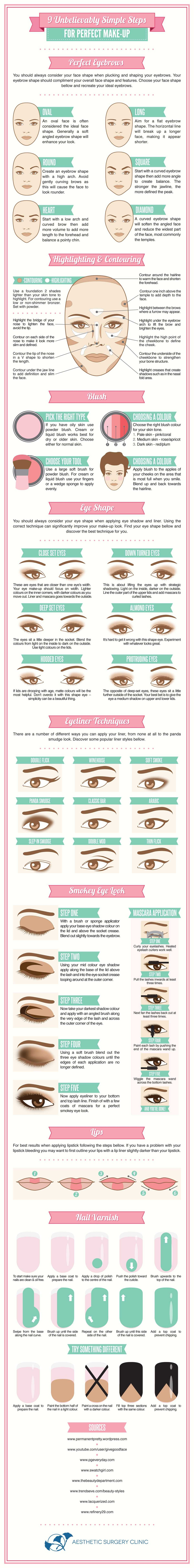 9 Steps To Simple Makeup