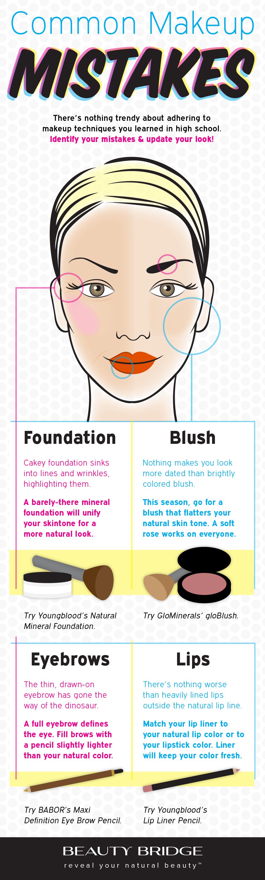 Common Makeup Mistakes To Avoid