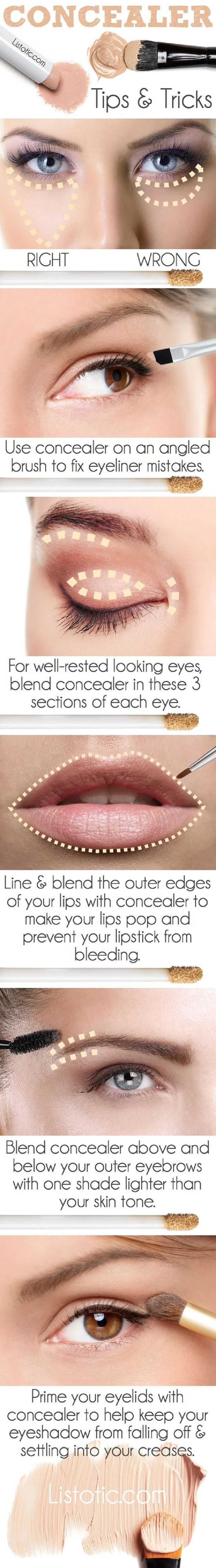 Concealer Tips & Tricks