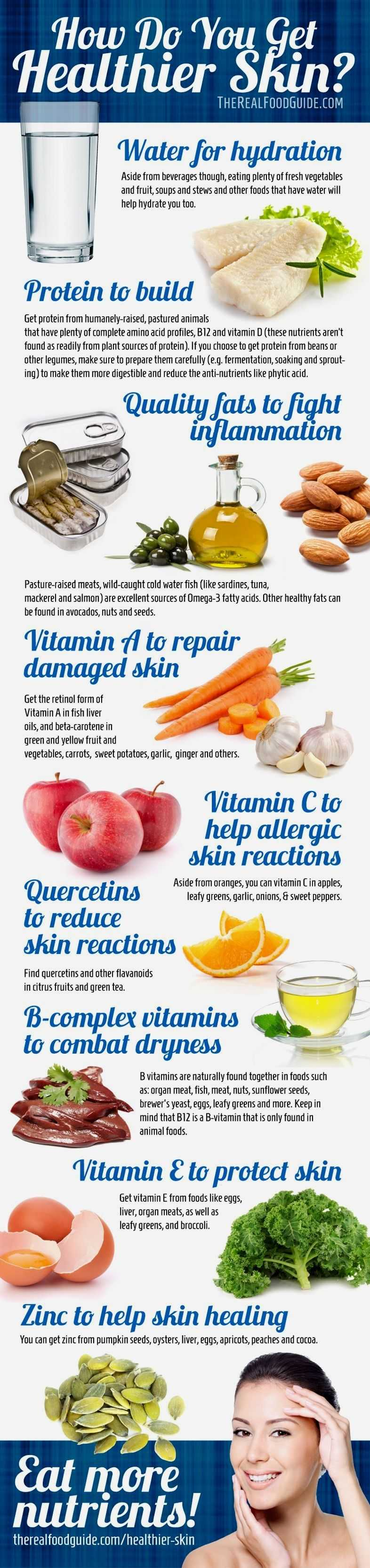 How To Get Clear Skin Vitamins For Healthy Skin