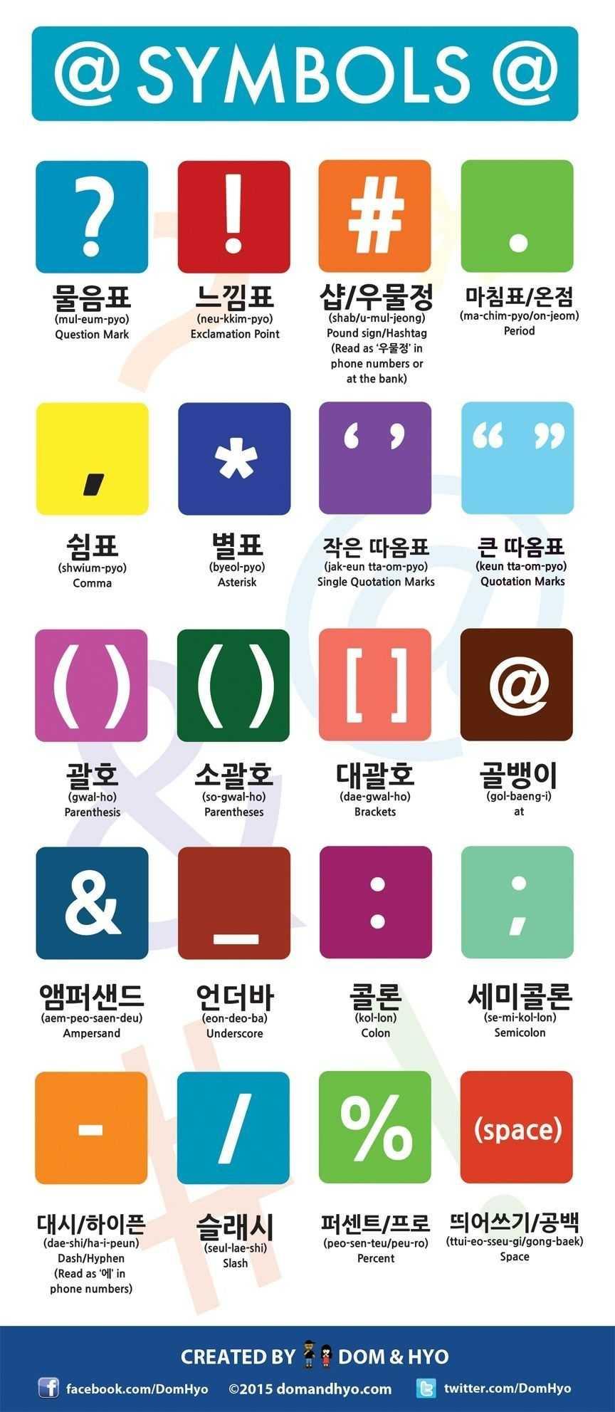 Korean Symbols