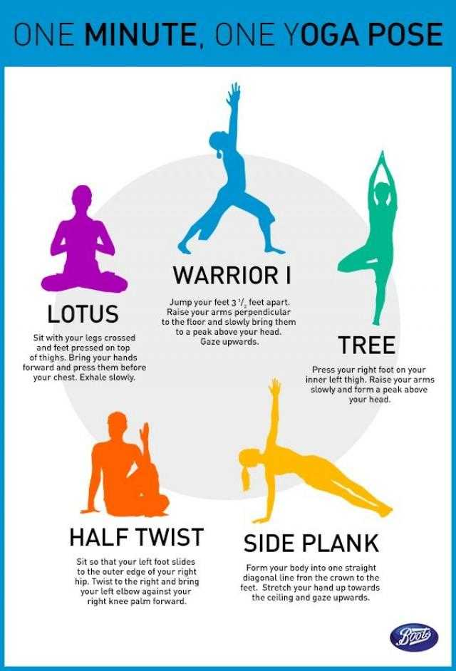 One Minute One Yoga Pose