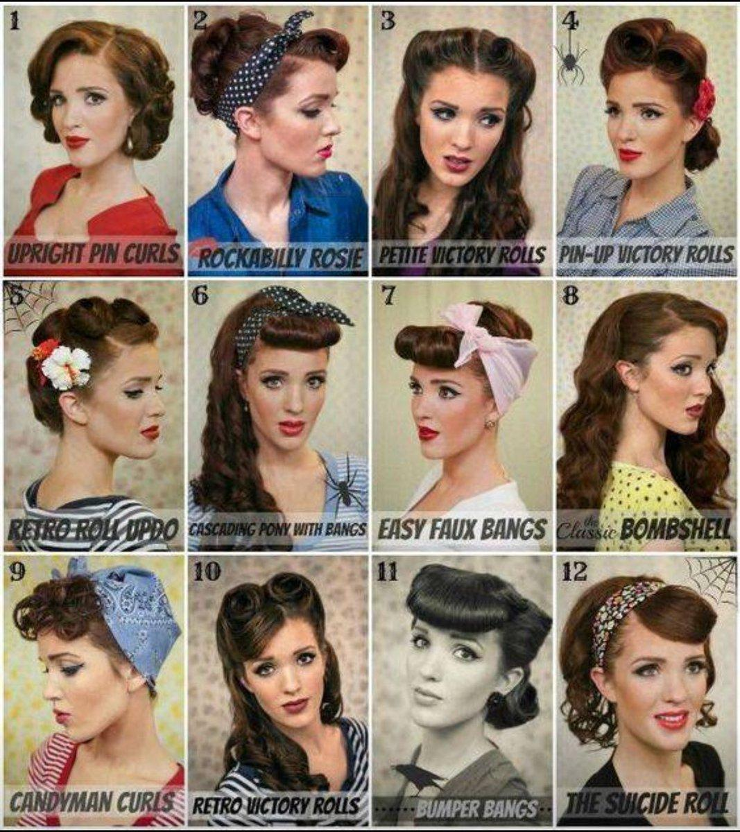 Pin-Up Hairstyles