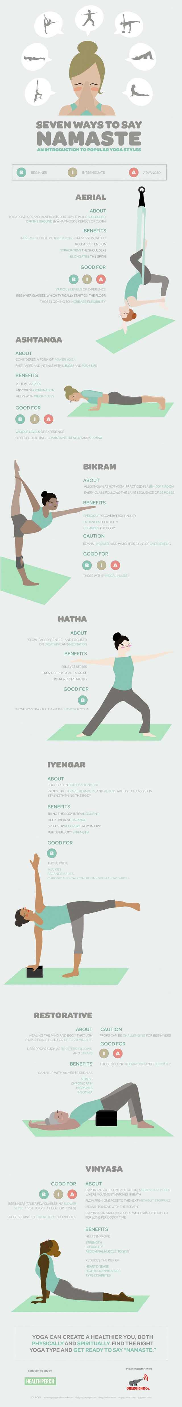 Seven Ways To Say Namaste