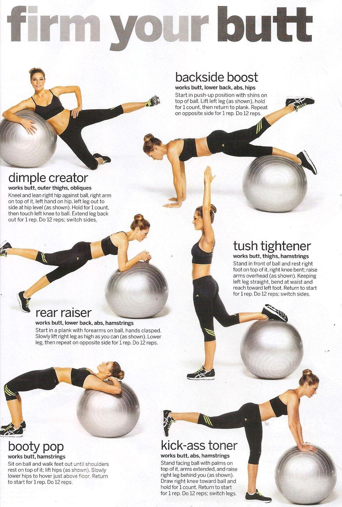 Use A Stability Ball