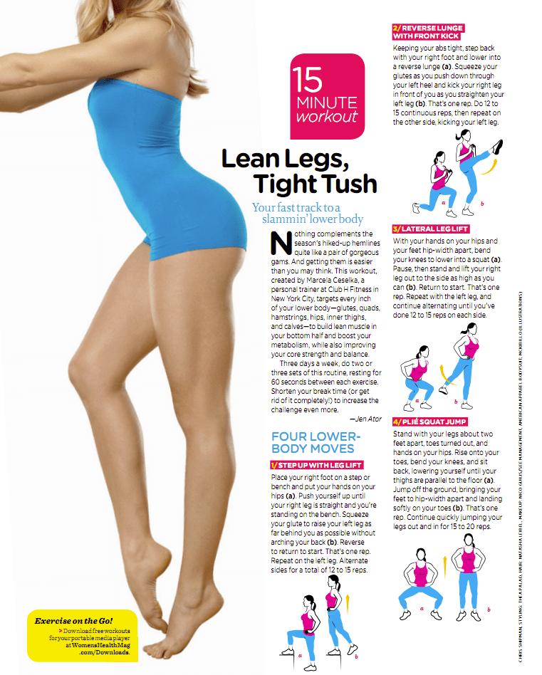 15 Minute Lean Leg, Tight Tush