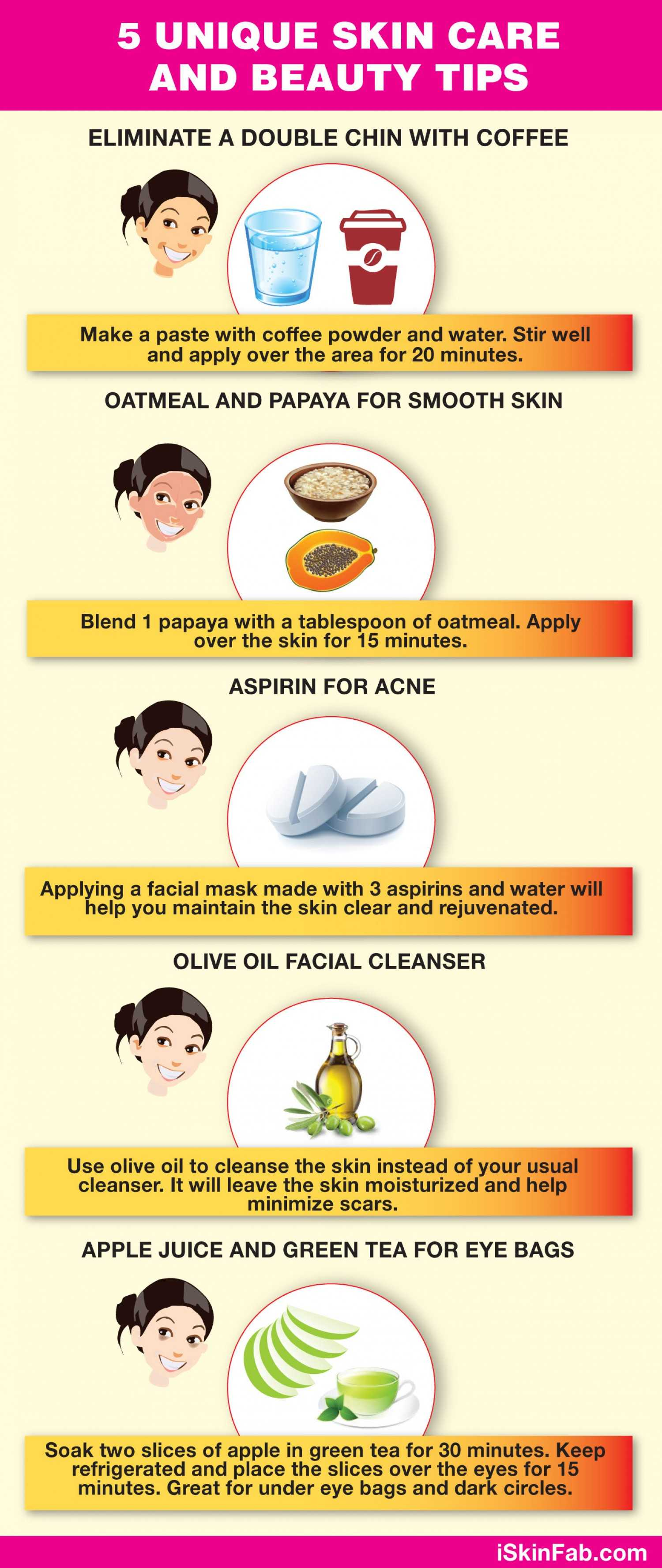 5 Homemade Skin Care And Beauty Tips