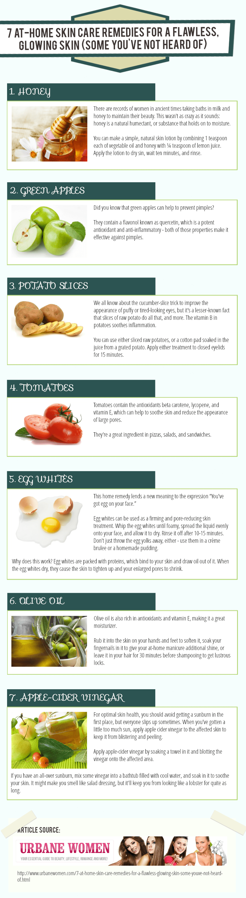 At-Home Skin Care Remedies
