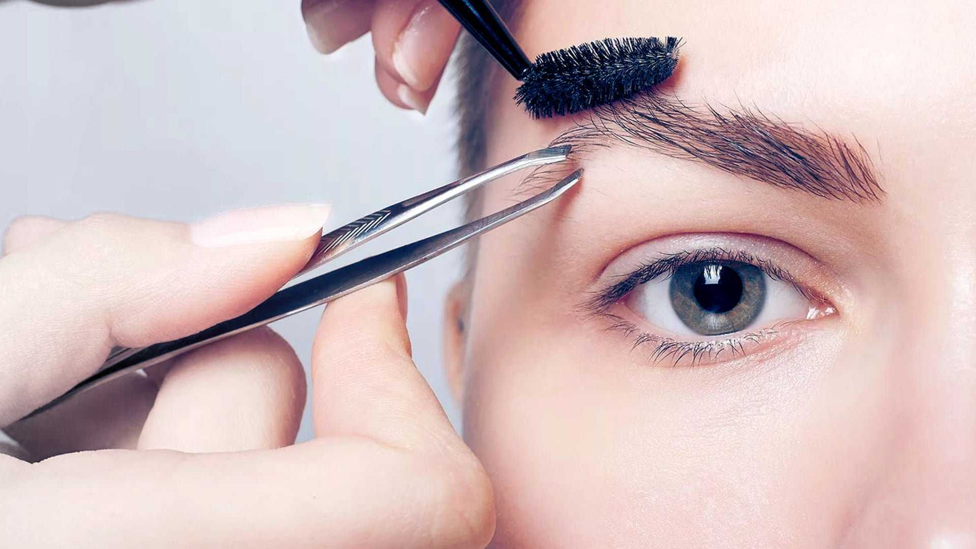 20 Perfect Eyebrows Infographics