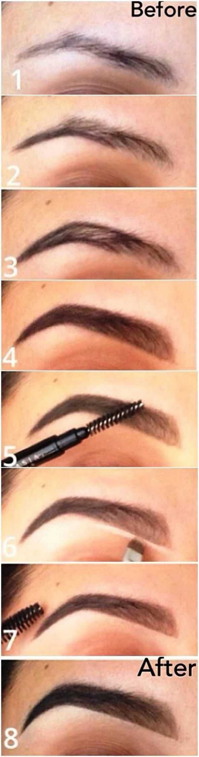 How To Brow From Start T