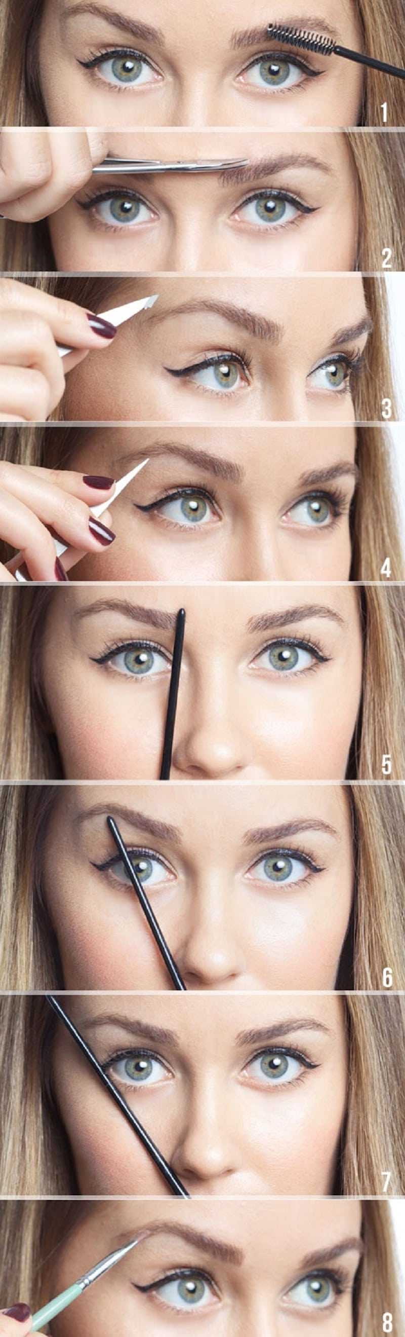 How To Shape Your Brows To Fit Your Face